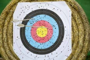 common mistake in archery